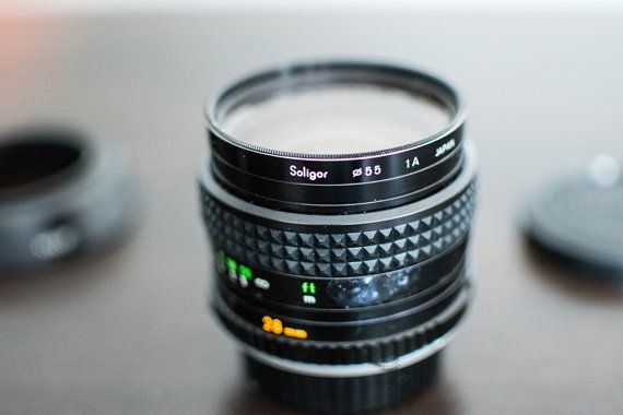 Leitz 50mm Vintage Camera Lens by CheerfulCollections on Etsy