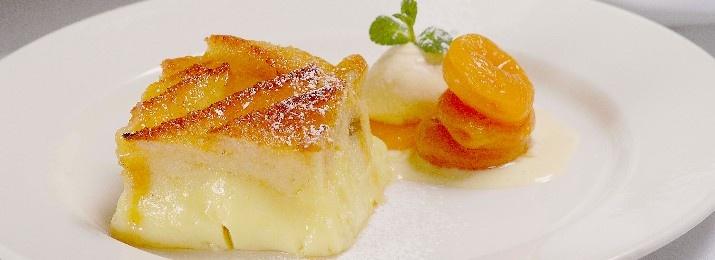 """Heathcote's Famoue Bread & Butter Pudding: recipe from Chef Paul Heathcote.  """"This first recipe is one of my most well known dishes – my take on the classic Bread & Butter pudding. This was on my very first menu back in 1990 at The Longridge, and still remains on Heathcotes Brasserie's menu today. The recipe is the same""""   http://heathcotes.co.uk/?p=71#"""