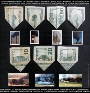 9/11 Prediction in Dollar Bills