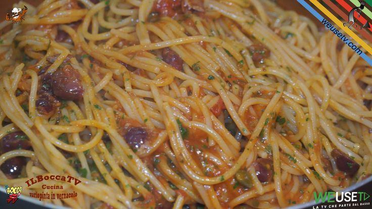 297 - Spaghetti alla puttanesca...e l'estate è bella fresca!