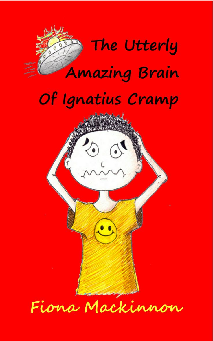 My first book!  Aliens in your brain!