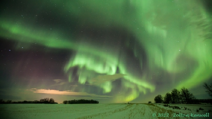 Northern Lights - Edmonton, Alberta, Canada