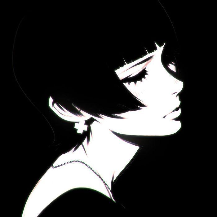 Черный арт картинки