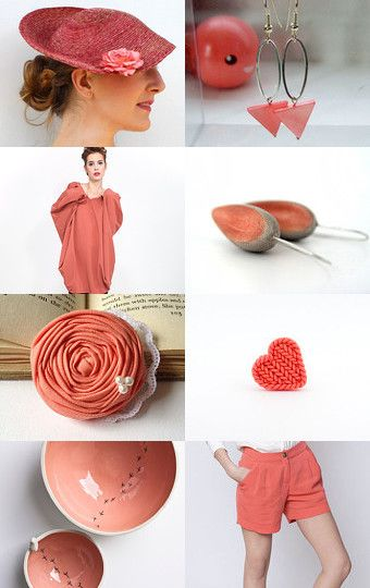 Peach echo by Savousepate on Etsy--Pinned with TreasuryPin.com