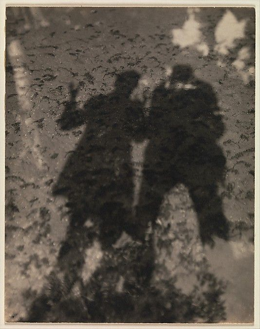 Shadows in Lake / Photograph by Alfred Stieglitz, 1916