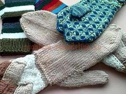 Knitted Mitten Gloves GREAt You-Tube tutorial. Have to start making it.