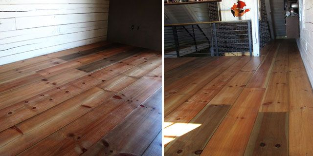 Wide Plank Flooring - I am totally obsessed!