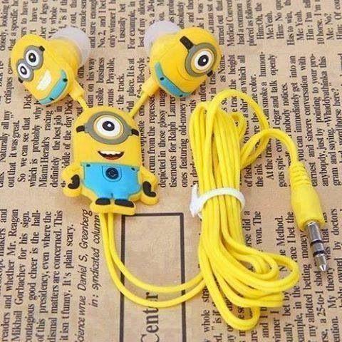 Minion headphones? Adorable!