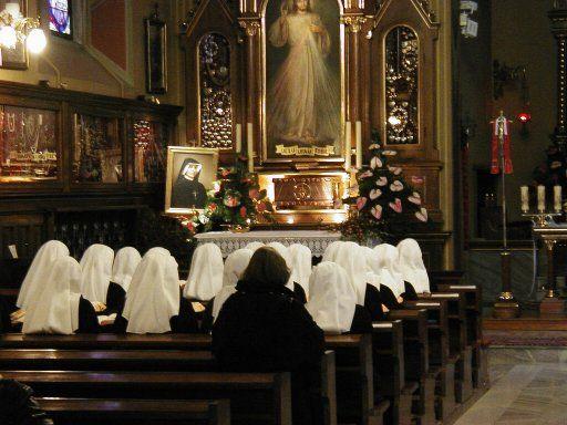 Capilla de la Divina Misericordia en Cracovia-Lagiewniki