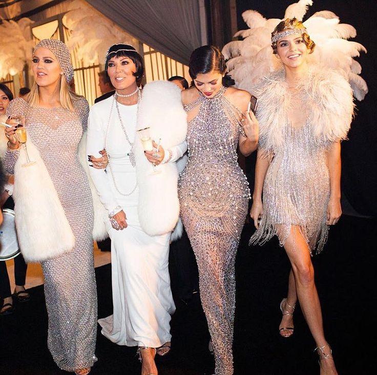Gatsby party @kardashians