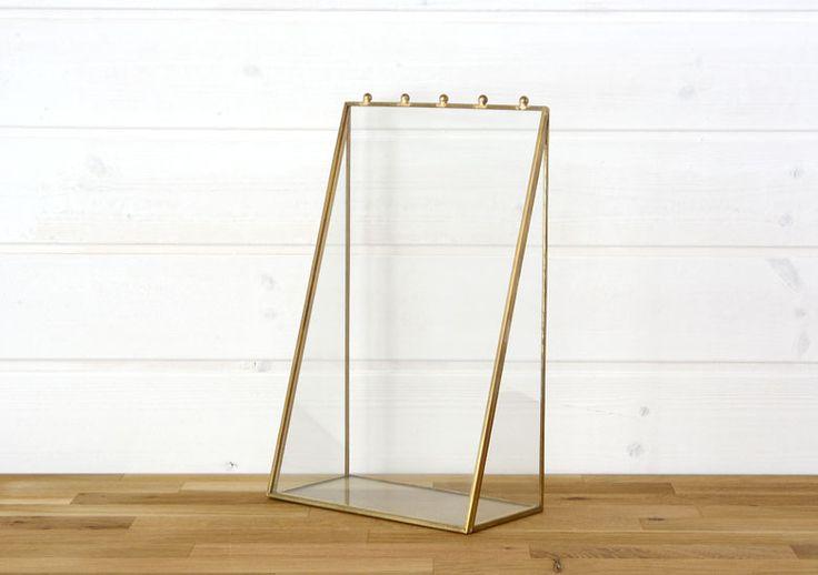 ガラス アクセサリースタンド ディスプレイ 小物入れ 小物収納