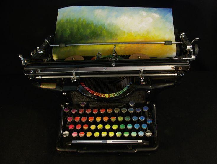 The Chromatic Typewriter by Tyree Callahan