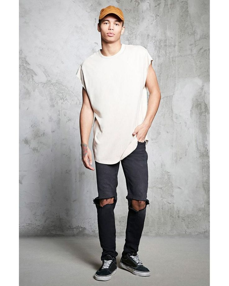 Buy Forever 21 Men's Multicolor Crew Neck Raw-cut Tee, starting at $10. Similar products also available. SALE now on!