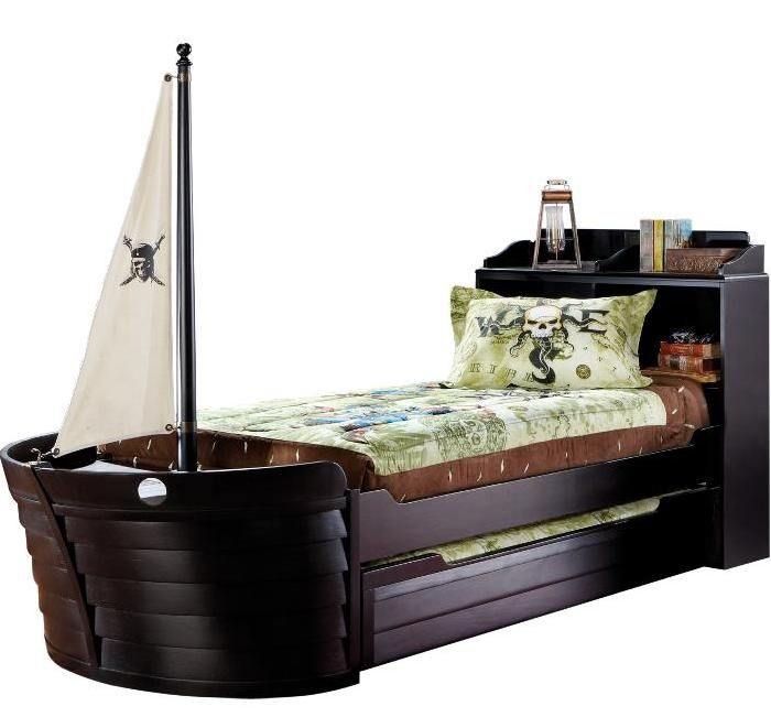 Pirate Ship Bed For The Home Pinterest Pirate Ship Bed Pirate Ships And Room