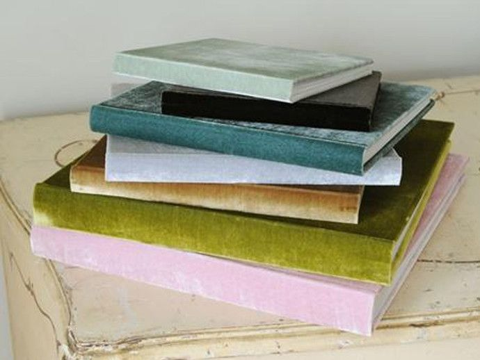 Gorgeous velvet photo albums - get those smartphone pics developed make a family album for grandma!