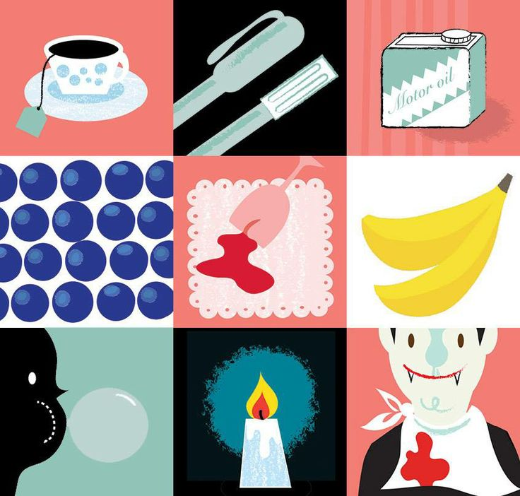 Illustration by Kati Närhi for Marttaliitto, 2012
