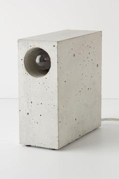 brick looking lamp