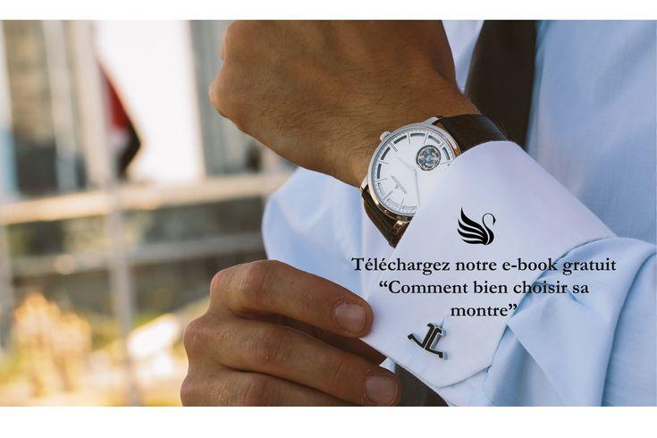 """Téléchargez notre e-book """"Comment bien choisir sa montre"""", Gratuit et sans engagement."""