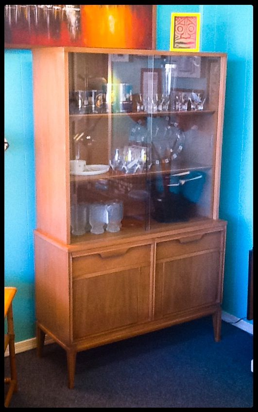 Basic Witz, Mid Century, Hutch (matching Folding, Dining Table With 2  Extensions Part 96