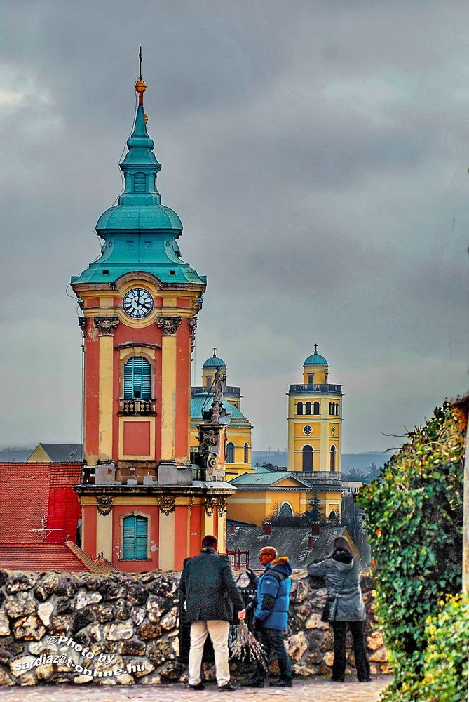 Church towers - Eger