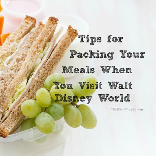 Tips for saving money at Walt Disney World by packing your meals!