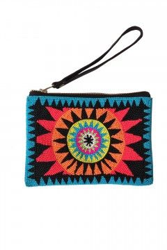 VIDA Statement Clutch - BEAUTIFUL SERAPE 2 by VIDA Oiwq2w52Z