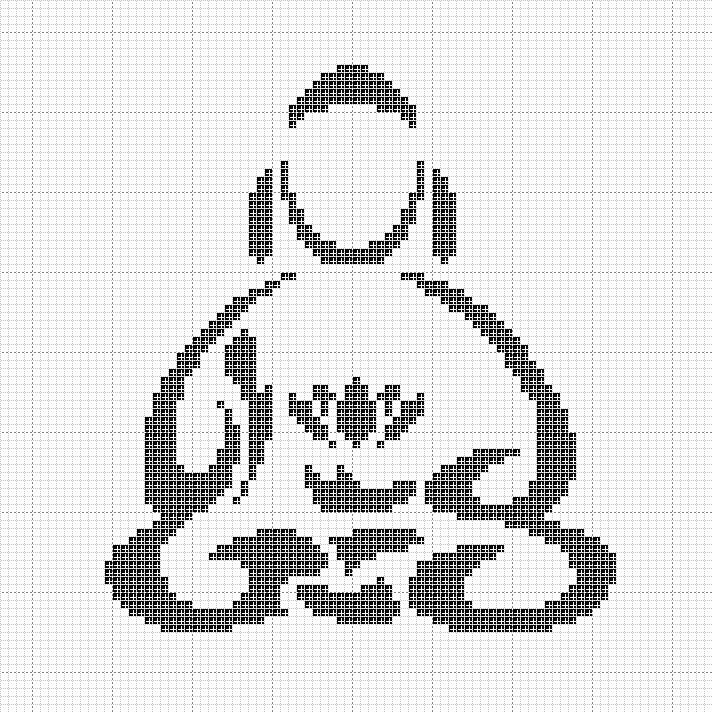 Little Buddha Pattern by Rae18.deviantart.com on @deviantART