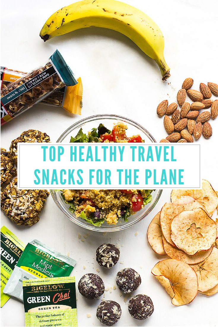 These are my Top Healthy Travel Snacks for the Plane - they are guaranteed to fill you up and keep you healthy while travelling!