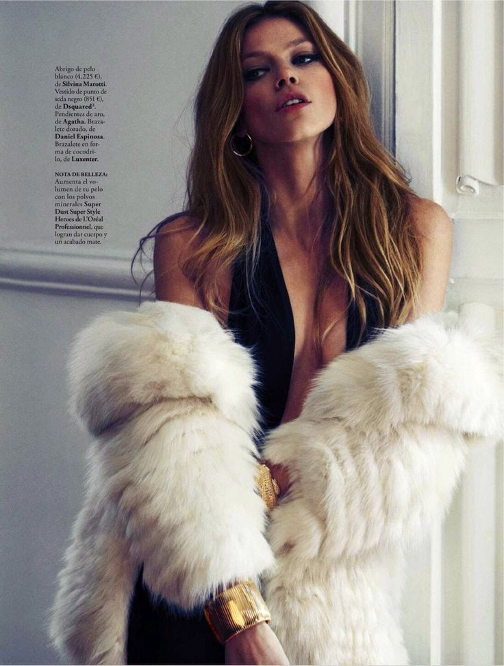Masha Novoselova By Xavi Gordo For Elle Spain January 2013