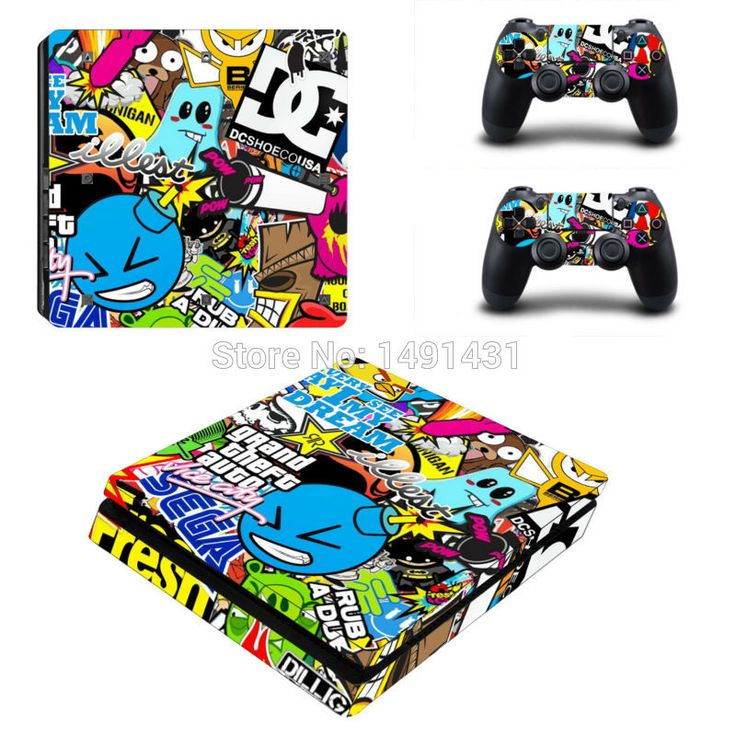 >> Click to Buy << Hot Sales Design For PS4 Slim Skin Sticker Decals for PlayStation4 Slim Console and 2 controller skins #Affiliate