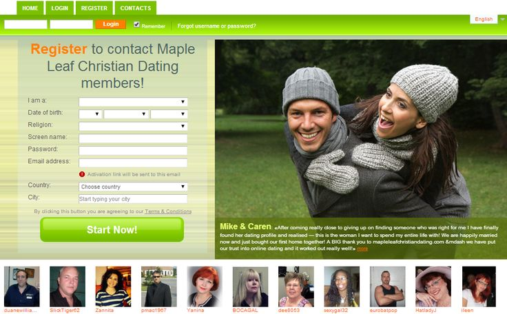 Christian community dating site