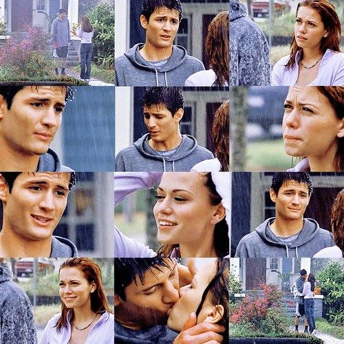 nathan and haley first meet