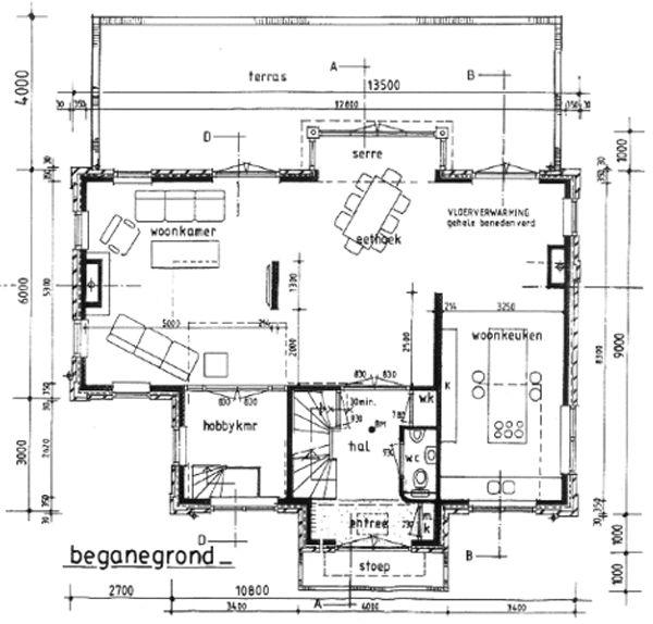 Voorbeeld 4 eigen huis bouwen plattegrond woningen for Huis bouwen stappen