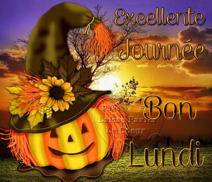 Excellente Journée, Bon Lundi #lundi halloween