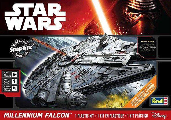 Revell STAR WARS Millennium Falcon RMX851633 SnapTite Plastic Model Kit 85-1633  #Revell #seanmichaelgeek