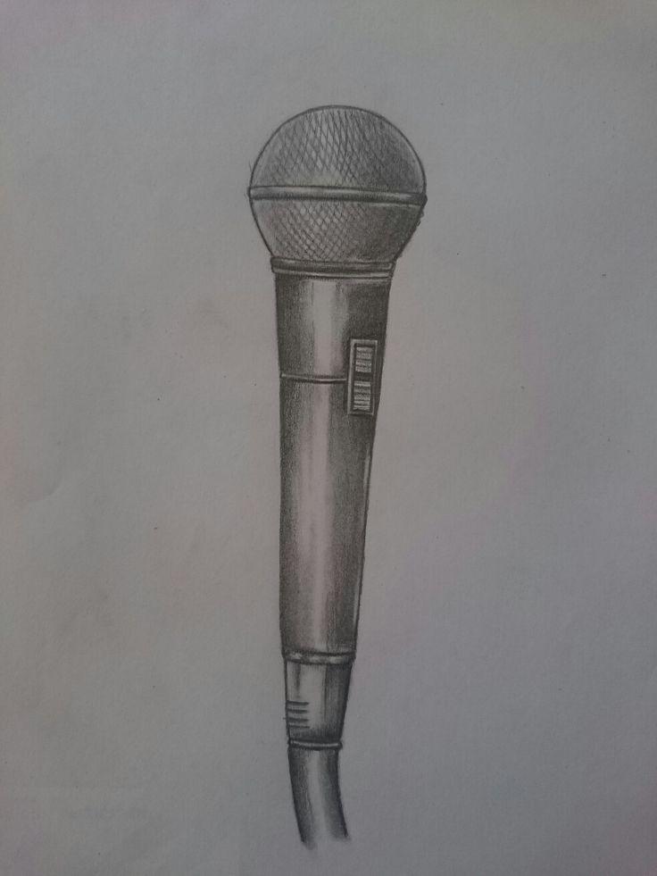 Drawing Microphone sketch