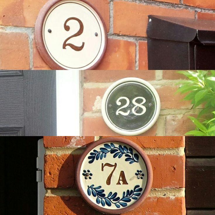 u0027Classicu0027 and u0027Cottageu0027 Exterior House Numbers in
