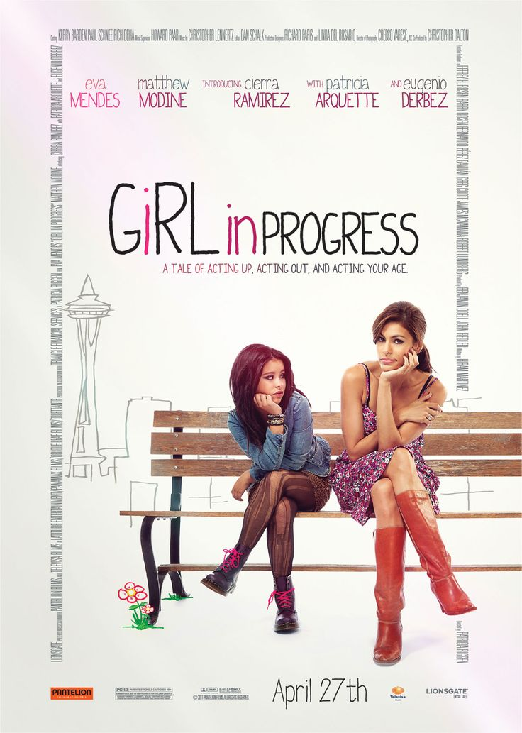 Girl in Progress , starring Eva Mendes, Cierra Ramirez, Patricia Arquette, Matthew Modine. As single mom Grace juggles work, bills, and her affair with a married doctor, her daughter, Ansiedad, plots a shortcut to adulthood after finding inspiration in the coming-of-age stories she's reading for school. #Comedy #Drama