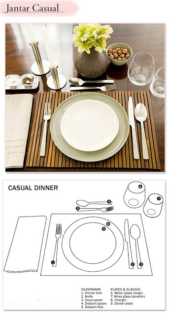 1000 images about formal table setting on pinterest for Casual dinner table setting ideas