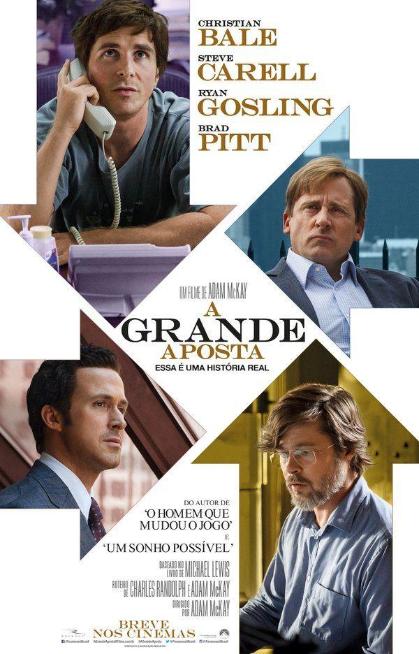 Um filme de Adam McKay com Christian Bale, Steve Carell, Ryan Gosling, Brad Pitt. Michael Burry (Christian Bale) é o dono de uma empresa de médio porte, que decide investir muito dinheiro do fundo que coordena ao apostar que o siste...