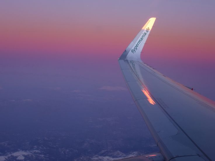 Germania Flug von Frankfurt nach Marsa Alam