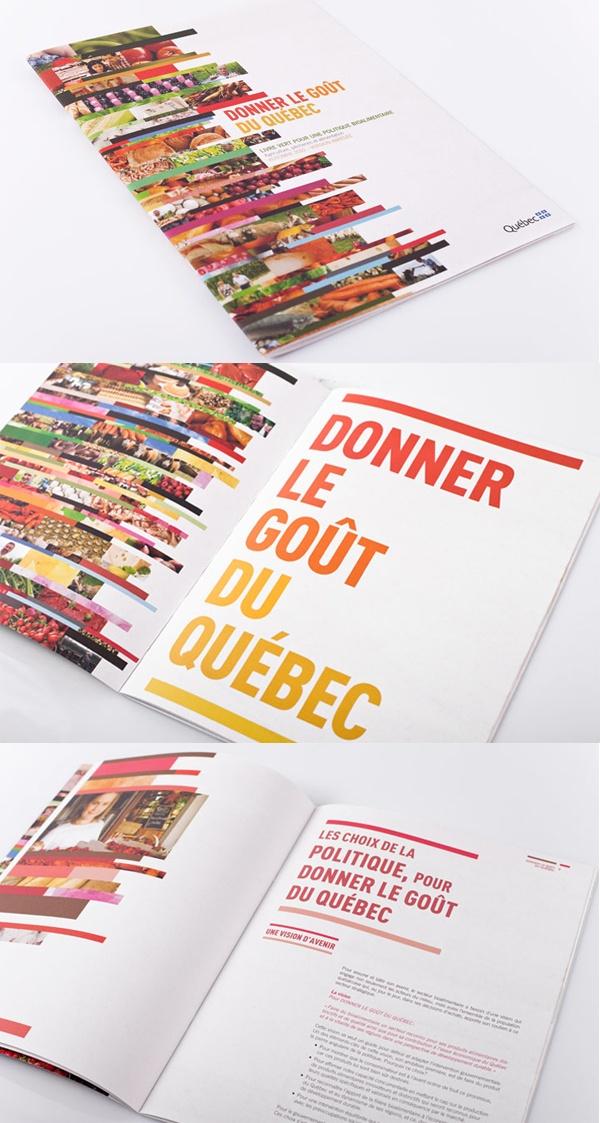 Client : Ministère de l'agriculture, des pêcheries et de l'alimentation du Québec (MAPAQ) - Design graphique, outils corporatifs.