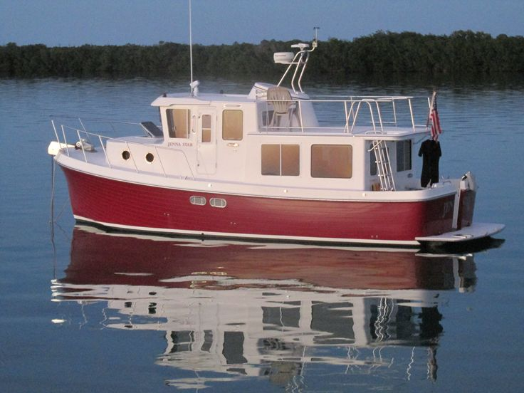 Trawler for sale American Tug 34 Jenna Star
