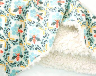 Flores de piel sintética bebé tenue amanecer niño por FoxHillBaby