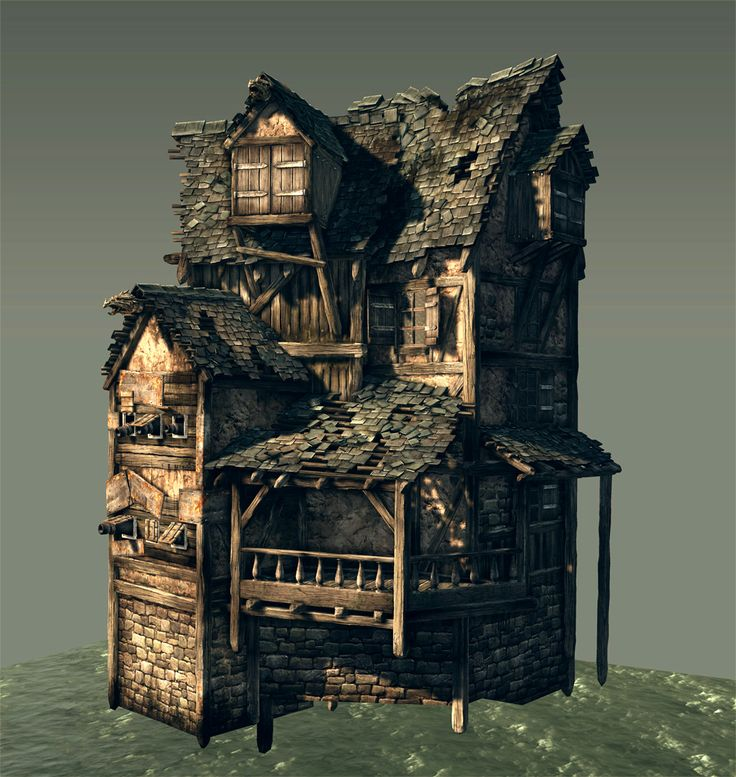 Pirate castle [UDK] - Page 2 - Polycount Forum