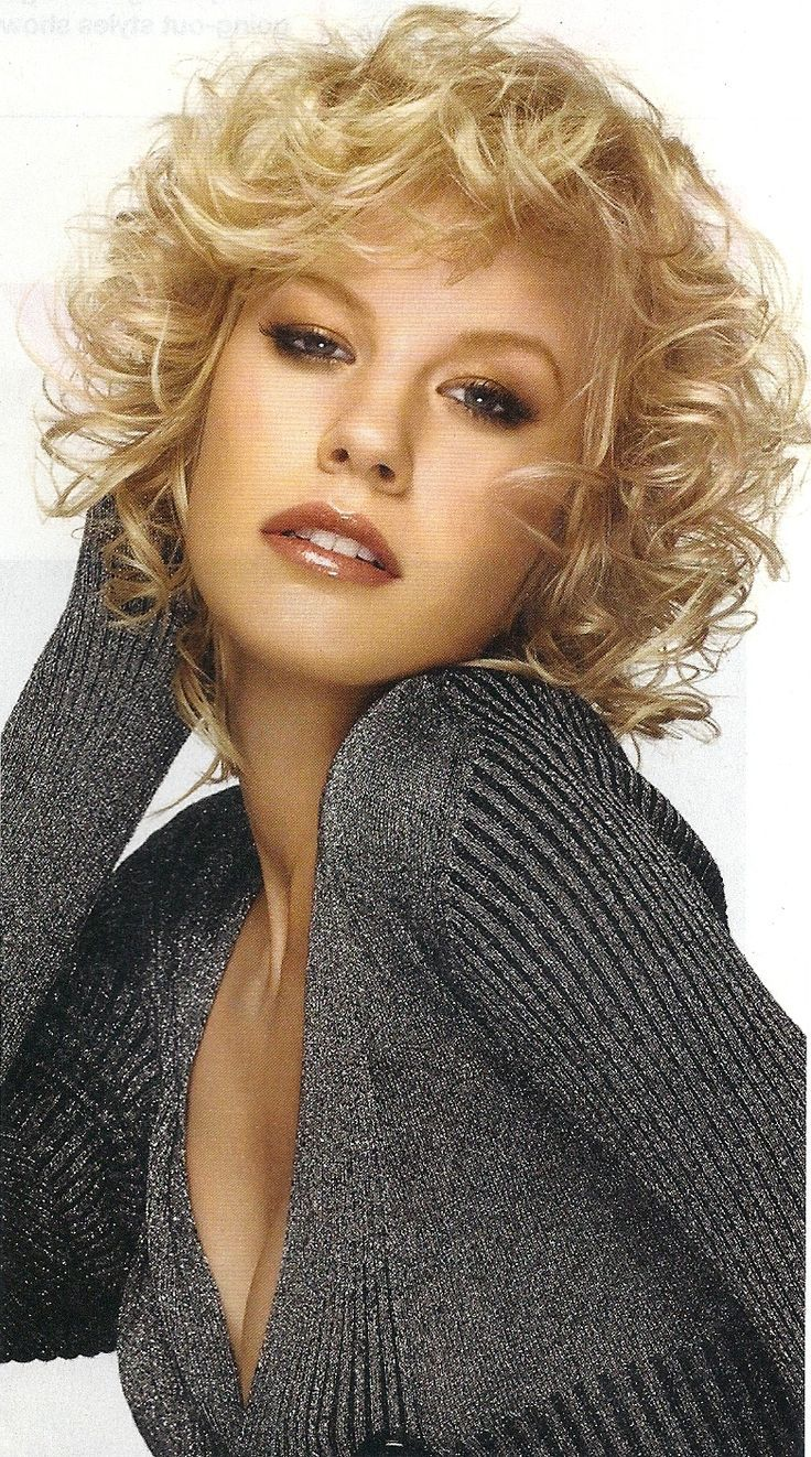 Best Images About Crazy About Curls On Pinterest - Short hairstyles with curls