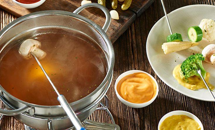 Vegetarisches Fondue | Knorr