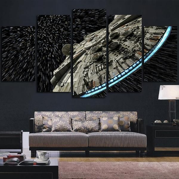 Pin On Star War Canvas Painting