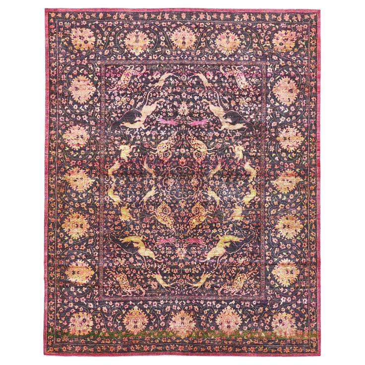 "One our favorite Aura Silk Rugs (8'1""x10'1"")"