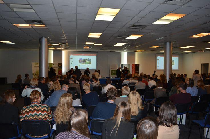 Uczestnicy konferencji organizowanej przez Stowarzyszenie Architektów Krajobrazu w Warszawie (18.11.2016)